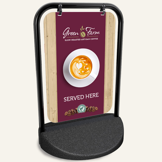 Green-Farm-Coffee-Swing-Sign