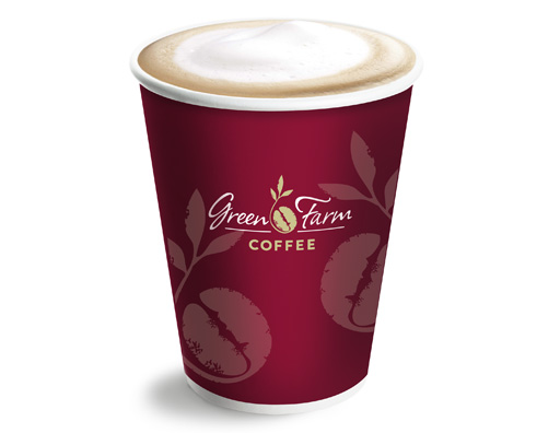 Green Farm Coffee Cup