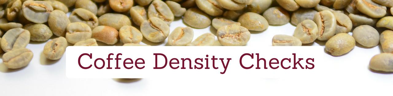Coffee Density Check