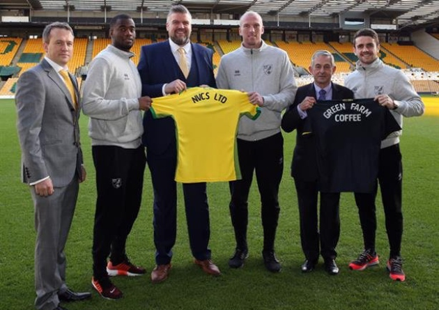 Commercial Coffee Partnership With Norwich City Football Club.